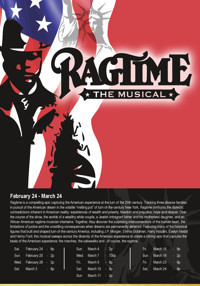 Ragtime The Musical at The Noel S. Ruiz Theatre in Long Island