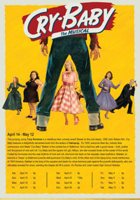 Cry-Baby The Musical at The Noel S. Ruiz Theatre in Long Island