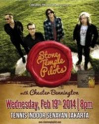Stone Temple Pilots with Chester Bennington in Indonesia