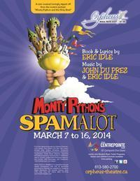 Orpheus presents Monty Python's SPAMALOT in Ottawa
