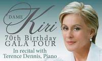 Dame Kiri In Recital With Pianist Terence Dennis in Australia - Perth