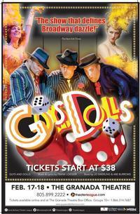 GUYS AND DOLLS in Santa Barbara