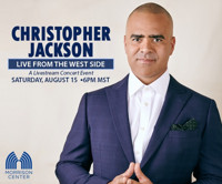 Christopher Jackson: Live from the West End in Boise Logo