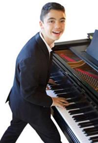 Ethan Bortnick in Broadway