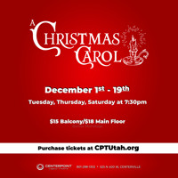 A Christmas Carol (Stage Reading)  in Salt Lake City