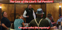 The Case of the Lion's Tail Pendant: A Miles and Jane Mystery in Boise Logo