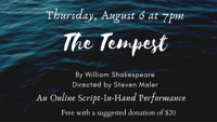 The Tempest: Online Script-In-Hand Performance in Boston Logo