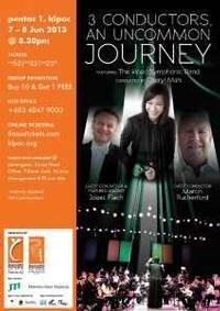 3 CONDUCTERS, AN UNCOMMON JOURNEY in Malaysia
