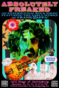 Absolutely Freaked! - a rock show of Zappa's early works in Central Pennsylvania