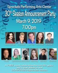 Spreckels 30th Season Announcement Party in San Francisco