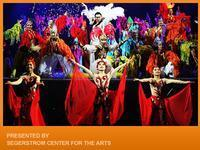 National Acrobats of China in Costa Mesa