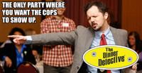Dinner Detective Costume Party Comedy Murder Mystery Dinner Show in Philadelphia