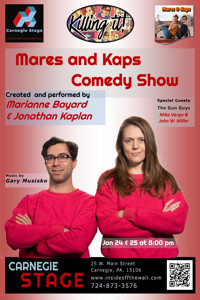 Mares 'n Kaps Comedy Show in Pittsburgh