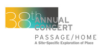 38th Annual Concert: Passage/Home, A Site-Specific Exploration of Place in Costa Mesa Logo