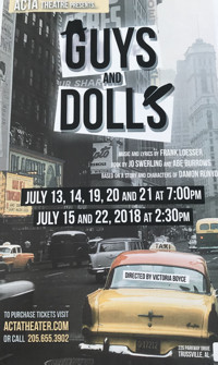 Guys and Dolls in Birmingham