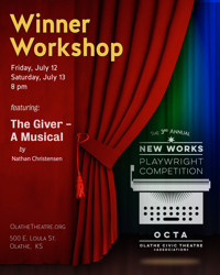 The Giver - A Musical | NWPC Winner Workshop Reading in Kansas City