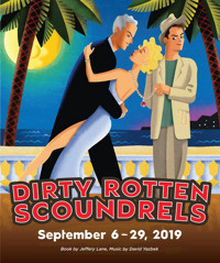 DIRTY ROTTEN SCOUNDRELS in Indianapolis