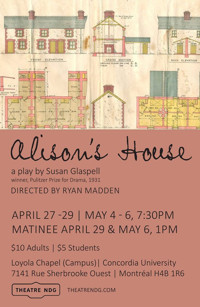 Alison's House By Susan Glaspell in Broadway
