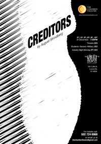 Creditors, By August Strindberg in Broadway