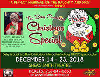 The Betsy Carmichael Christmas Special in Buffalo