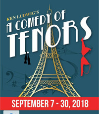 A COMEDY OF TENORS in Indianapolis