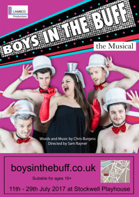 Boys in the Buff - the Musical in Broadway