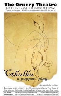 Cthulhu: A Puppet Play in Houston