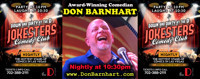 Don Barnhart Comedy Show - Down And Dirty At The D in Las Vegas