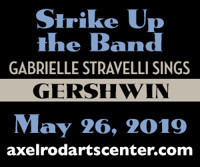 Strike Up the Band Gabrielle Stravelli Sings Gershwin in New Jersey