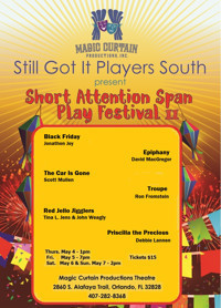 Short Attention Span Play Festival II in Broadway