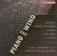 Works for piano and wind instruments in France