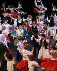The 20-year-old Csillagszem? Dance Ensemble in Hungary