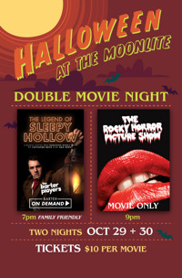 Halloween at the Moonlite in Central Virginia