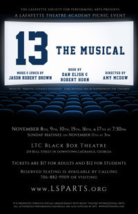 13, the Musical in Broadway