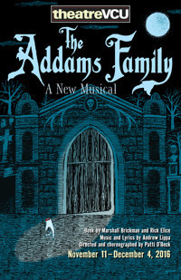 The Addams Family, A New Musical in Broadway