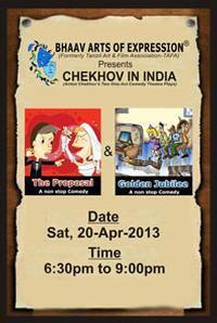 Chekhov In India in India