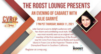 The Roost Lounge Presents ~ An Evening of Cabaret with Julie Garnyé in Los Angeles