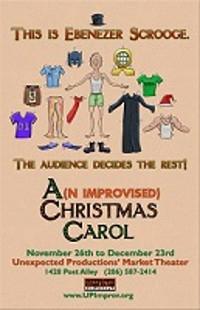 A(n Improvised) Christmas Carol  in Seattle