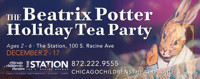The Beatrix Potter Holiday Tea Party in Broadway