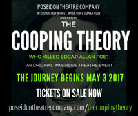 THE COOPING THEORY: Who Killed Edgar Allan Poe? an immersive theatre event! in Other New York Stages