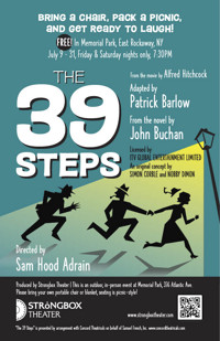 The 39 Steps in Off-Off-Broadway