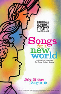 Songs for a New World by Jason Robert Brown in Birmingham