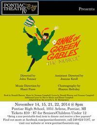 Anne of Green Gables - The Musical in Detroit