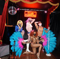 Pandemic Burlesque in Off-Off-Broadway