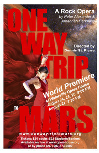 One Way Trip to Mars in Broadway