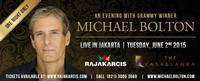 An Evening With Grammy Winner Michael Bolton in Indonesia