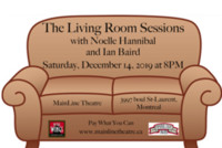 The Living Room Sessions with Noelle Hannibal & Ian Baird in Montreal