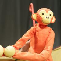 Five Little Christmas Monkeys in Broadway