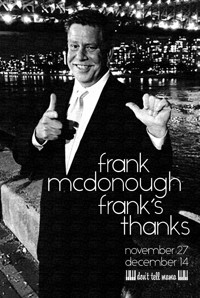 Frank's Thanks in Cabaret