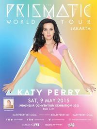 "Katy Perry ""The Prismatic World Tour""  in Indonesia"